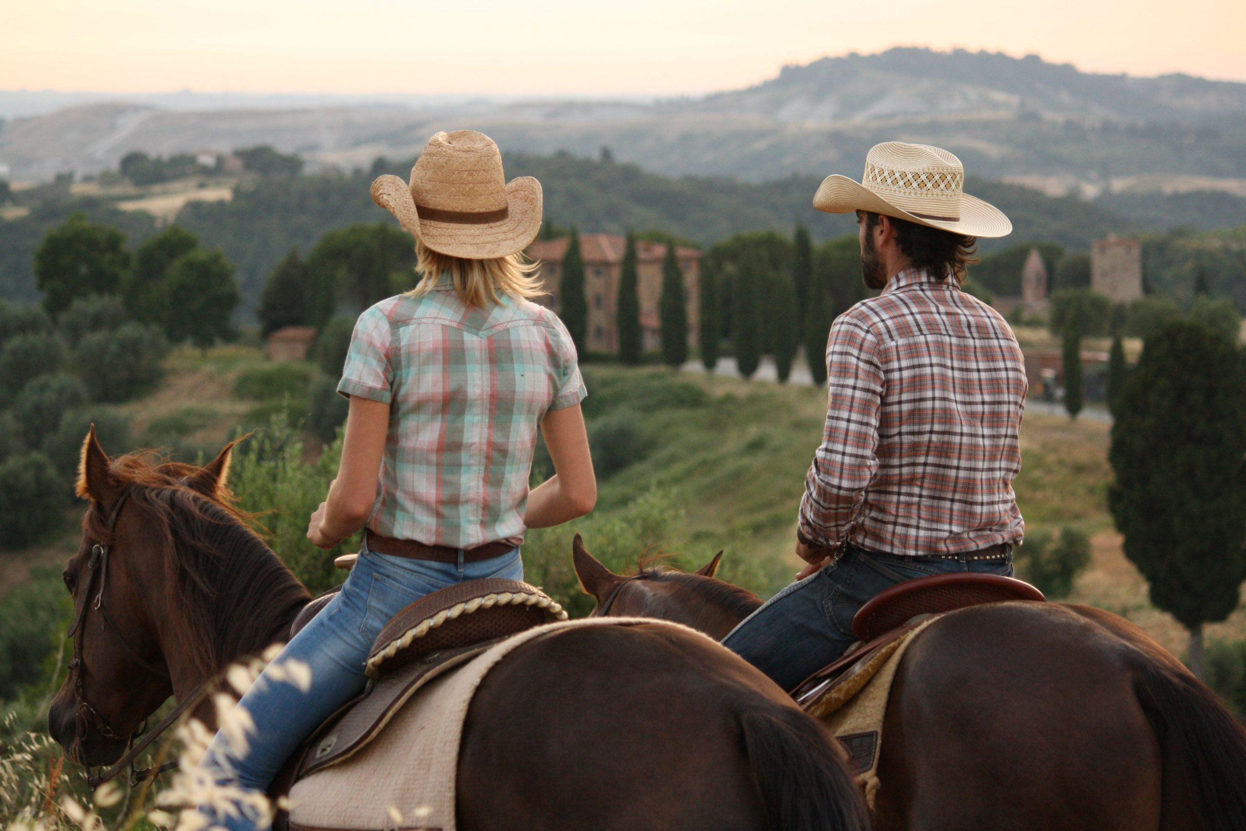 two trail riders